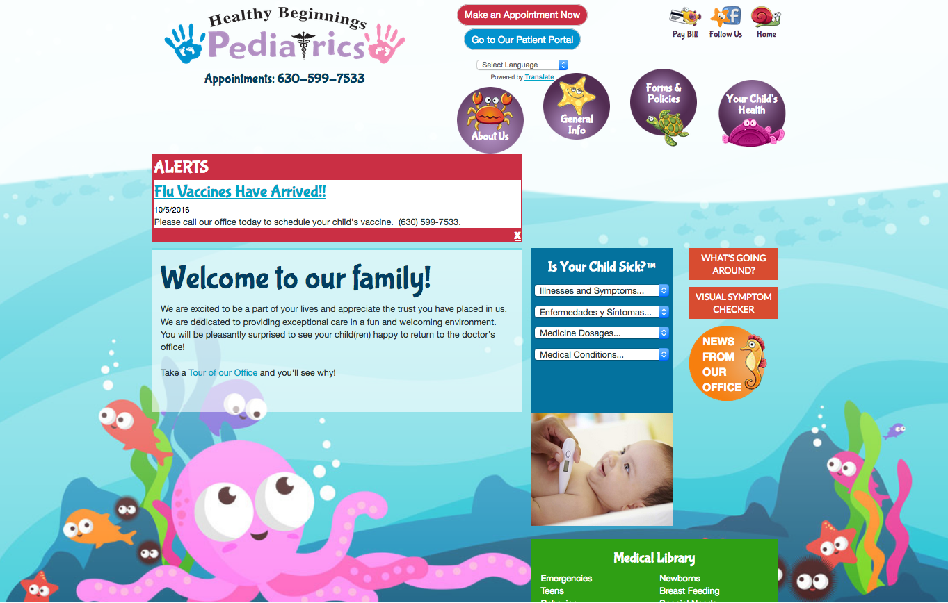 Healthy Beginnings Pediatrics